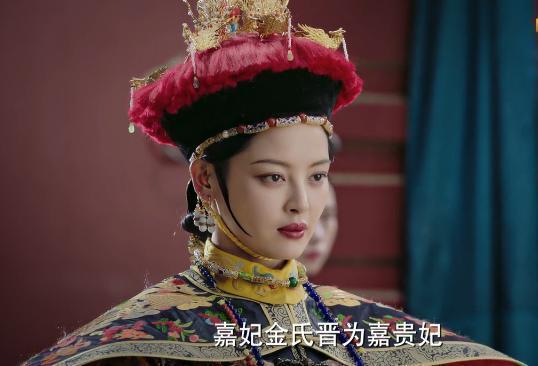她是清宫唯一异国佳人,为乾隆连生四子,生封贵妃,死封