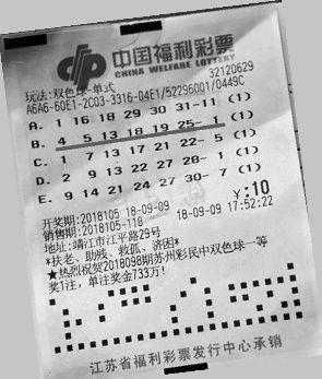 【彩民】连续10年坚持每期投注10元 这次中了625万大奖