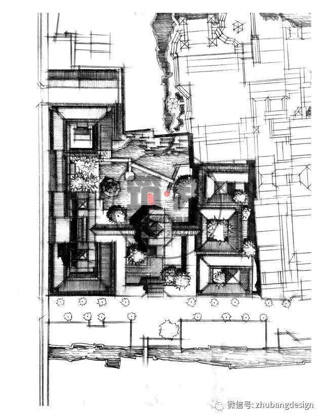 一战分享丨从苏州博物馆谈展示空间在快题中的应用