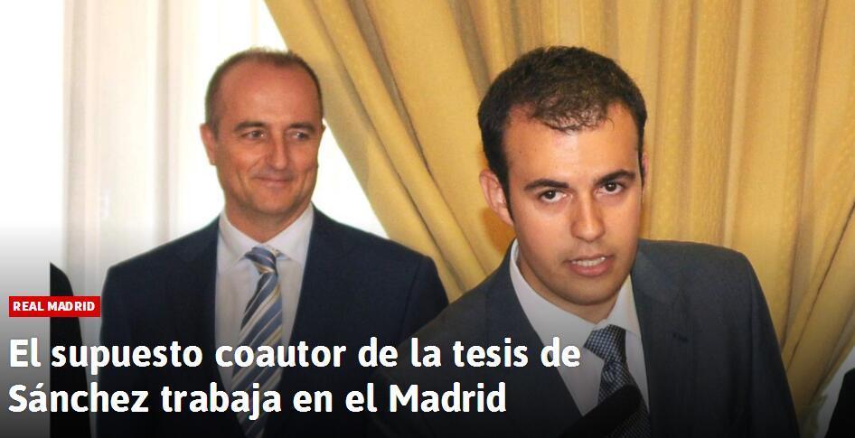 曝西班牙首相论文涉嫌造假疑似由皇马高层代笔