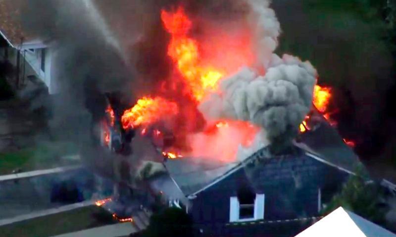 【看世界】美国马萨诸塞州70多处起火爆炸