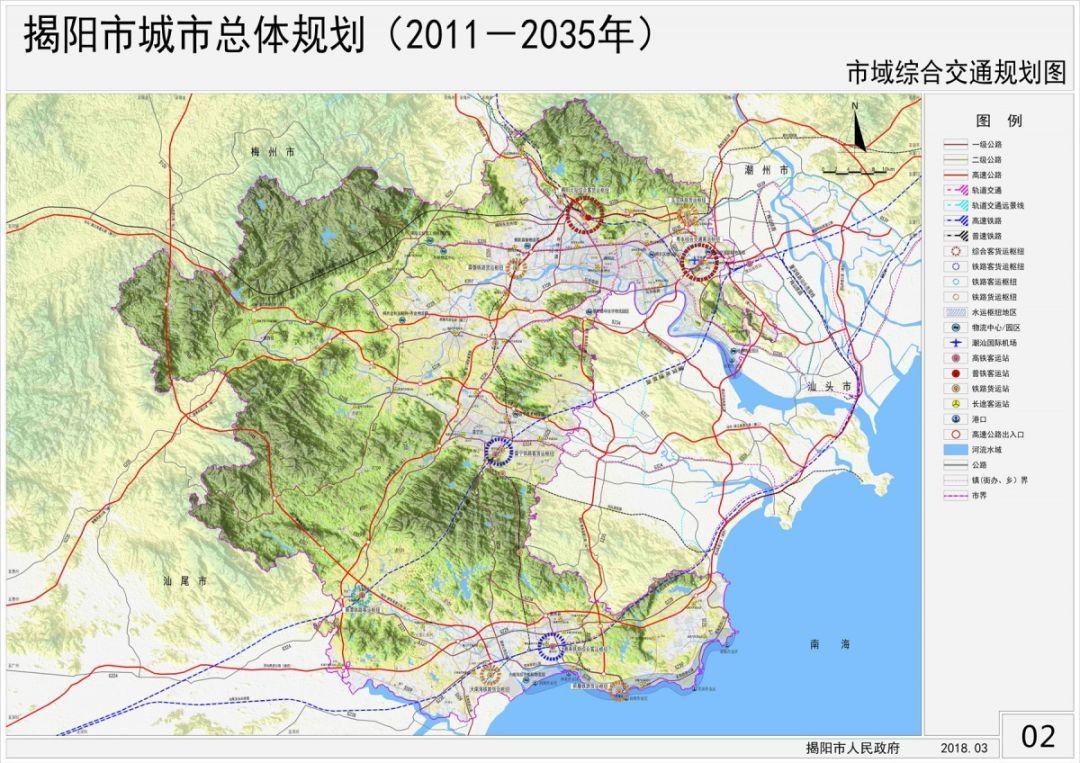 市域综合交通规划图
