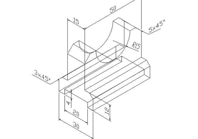 工程图 简笔画 平面图 手绘 线稿 640_448