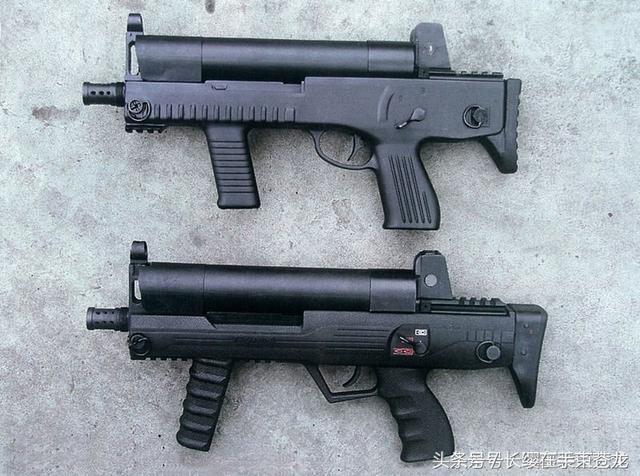 微型冲锋_8毫米微型冲锋枪,因2005年初正式定型而得名.qcw05式5.
