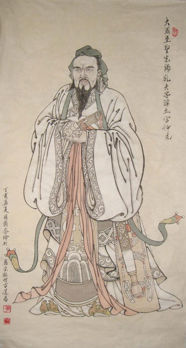 子贡问孔子_孔子有弟子三千,但是孔子却以一位渔夫为师!_子贡
