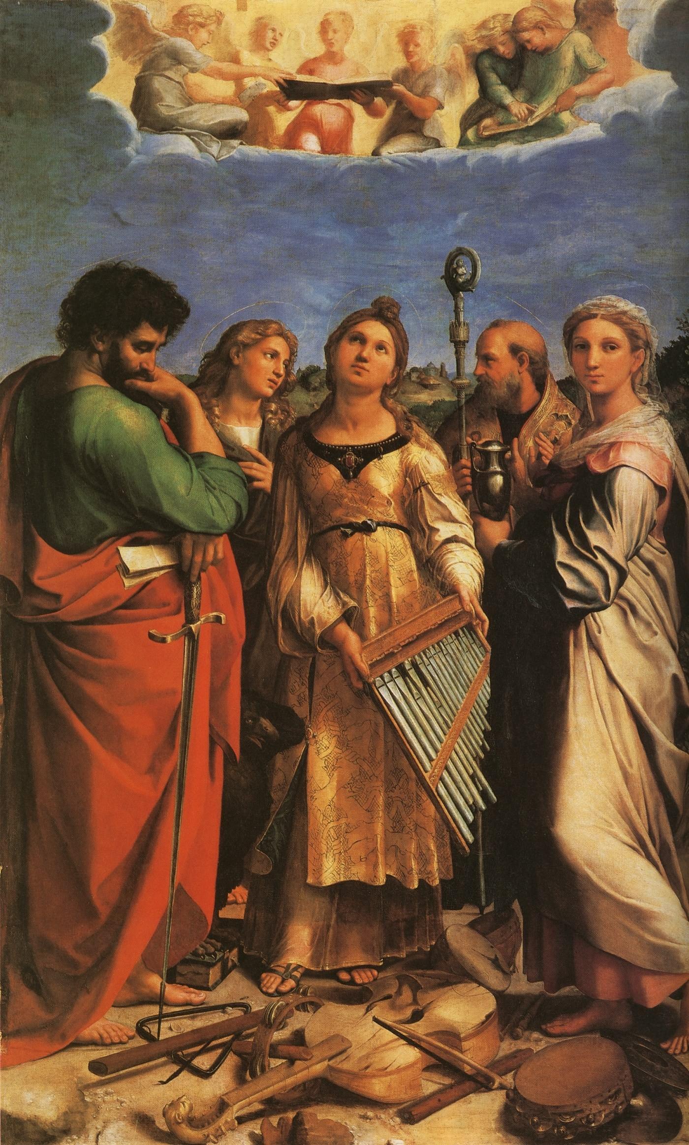 西方美术欣赏(12)永远的拉斐尔