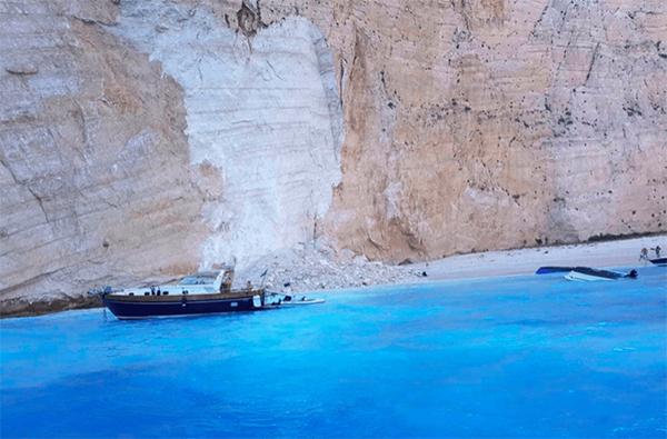 希腊游船倾覆事故一名女游客受伤