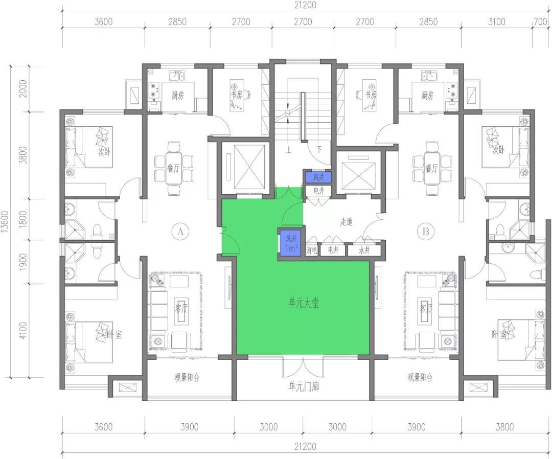 建筑图纸入门平面图