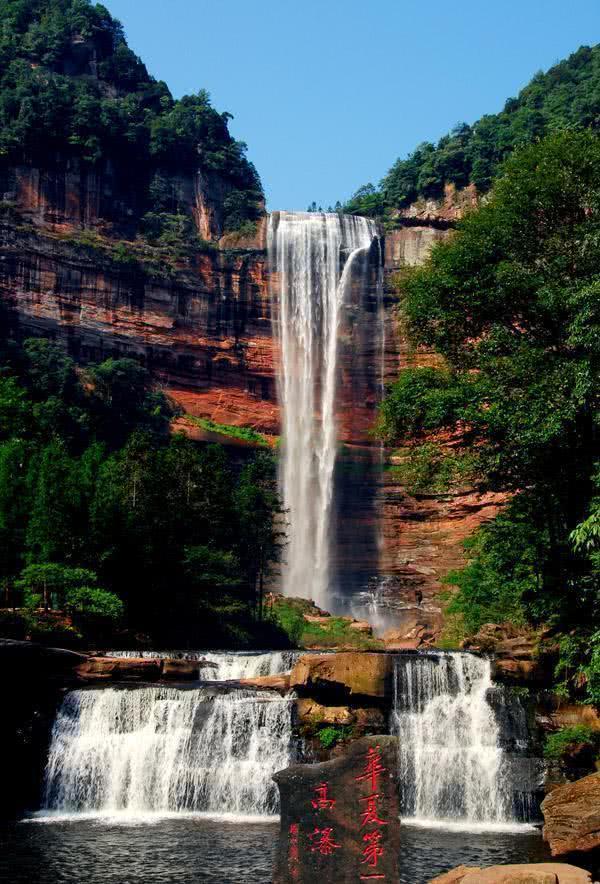 """比黃果樹還高的兩個瀑布,一個低調不收門票,一個造型別有用""""心"""""""