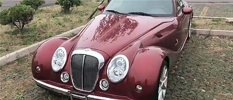 偶尔山寨劳斯莱斯,后面像宝马,车子像老爷车,价格才85万!