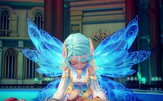 星学院:三位美少女终极变身后的羽翼造型,你最喜欢哪一个?