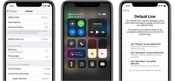iPhone Xs/Xs Max双卡功能详解 双卡能双待吗
