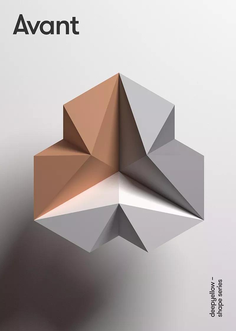 平面几何设计立体构成_平面几何设计立体构成分享展示图片