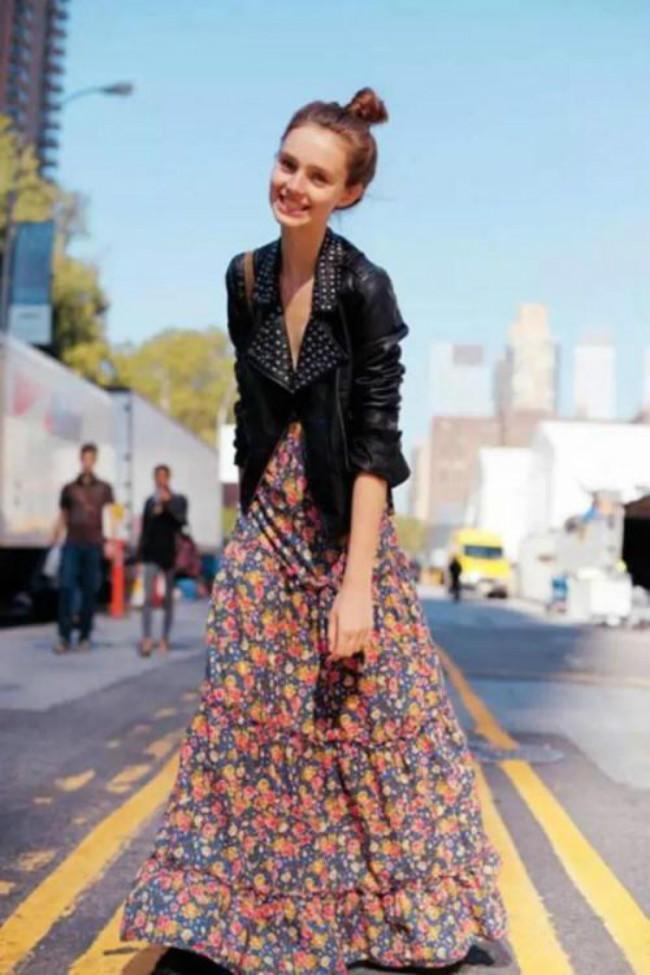 初秋裙子怎么搭?推荐三种裙装搭配,尤其是第三种,时髦又显气质