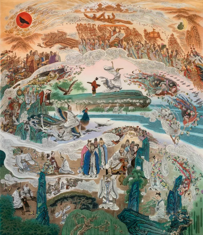 逐梦40年 | 冯远:与时俱进 源古流新 ——我与中国人物画40年