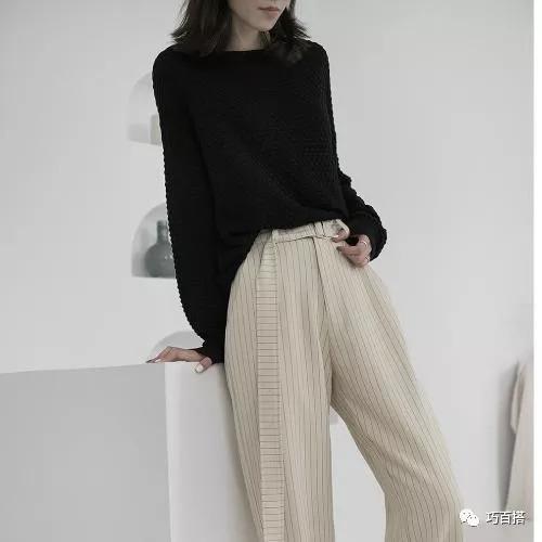 秋季卫衣怎么搭配阔腿裤?时髦精都喜欢这么搭,第三种太有范啦