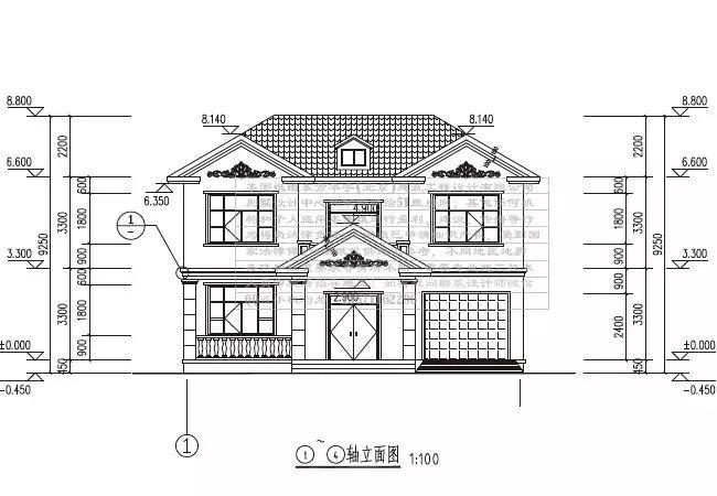 农村2层3间楼房设计图