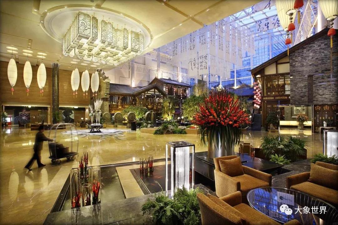 环球中心天堂洲际酒店图片