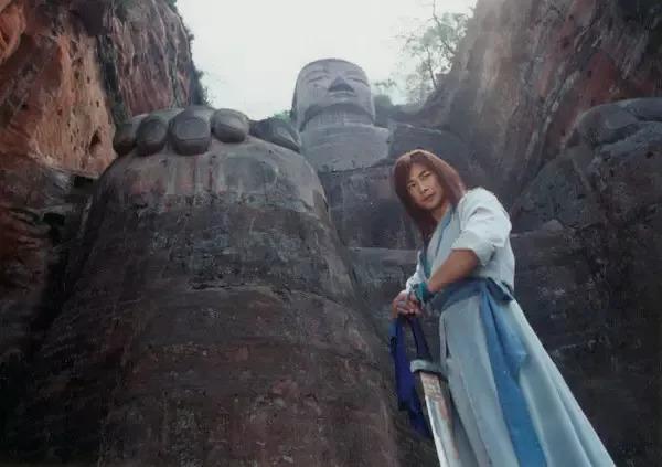 电视剧《风云雄霸天下》就是在乐山大佛取的景!