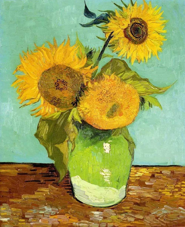 总之,梵高笔下的向日葵不仅仅是植物,而是带有原始冲动和热情的生命体