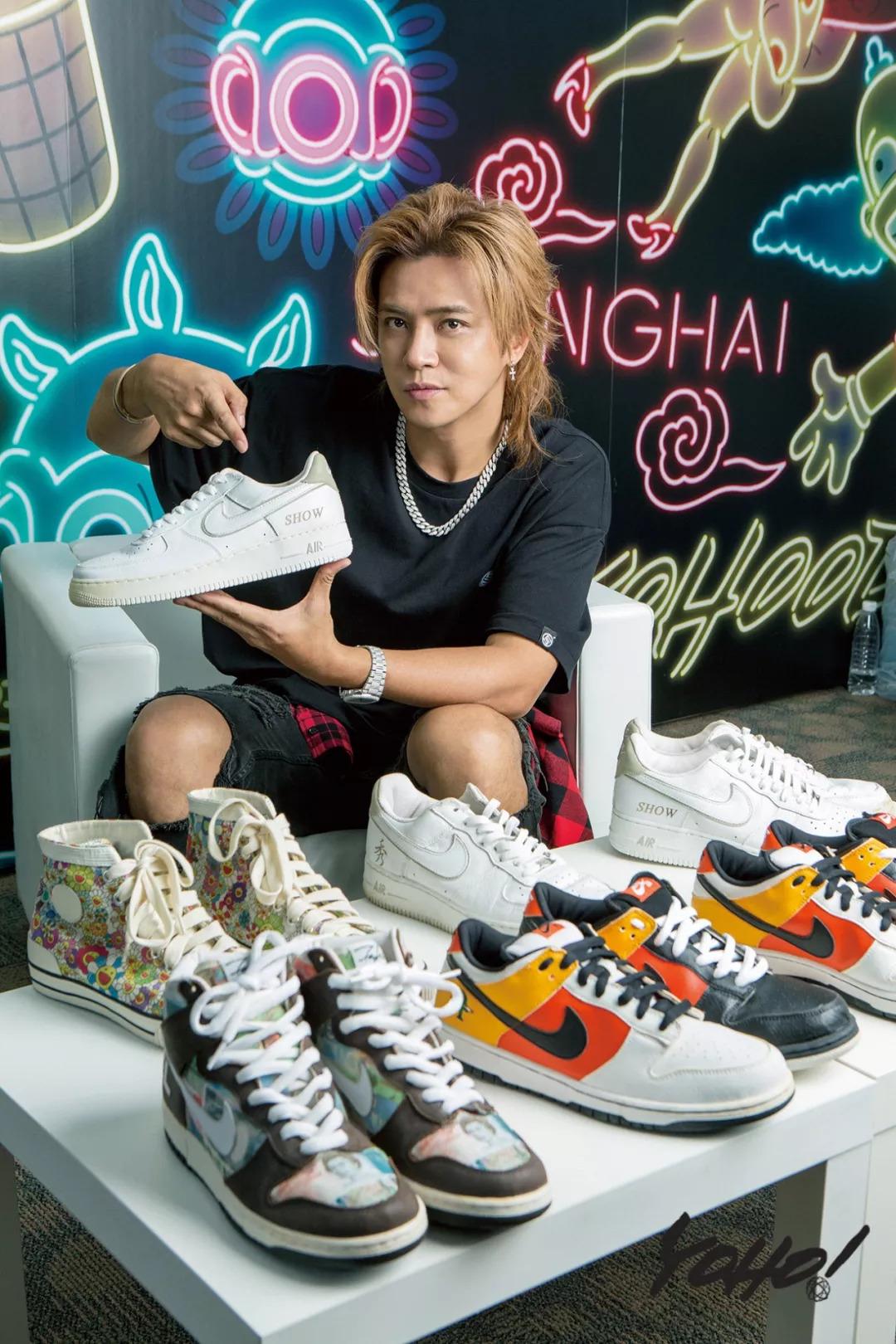 超级鞋头罗志祥:Nike为他出过定制款、你能想到的OG和热门鞋款他都有!