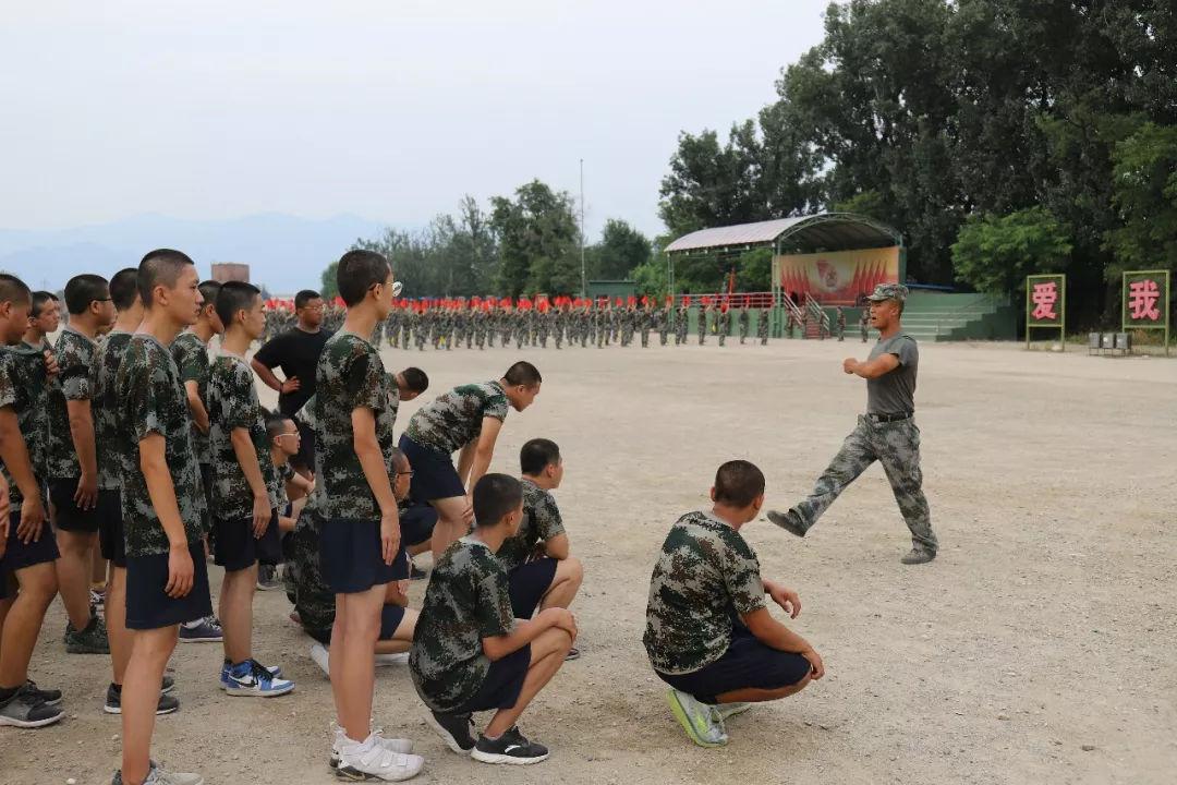 盛华基地:北京市电气工程学校军训纪实