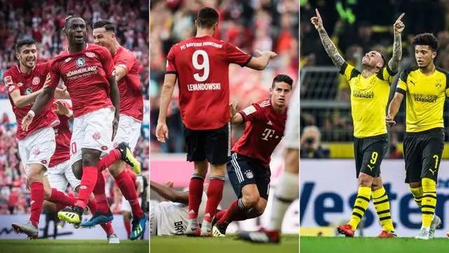 一轮德甲18队全有进球 替补力挽狂澜进13球刷新纪录