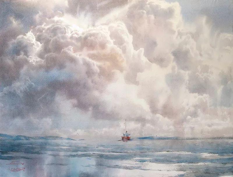 如此令人心动的水彩风景画,美醉了!_搜狐搞笑_搜狐网