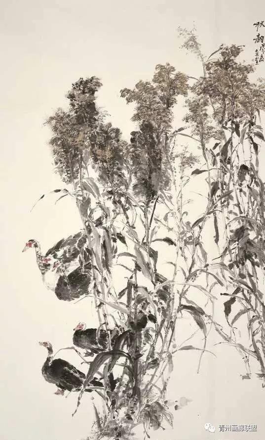 【头条报道】翰墨青州·2018全国中国画作品展获奖作品刊登图片