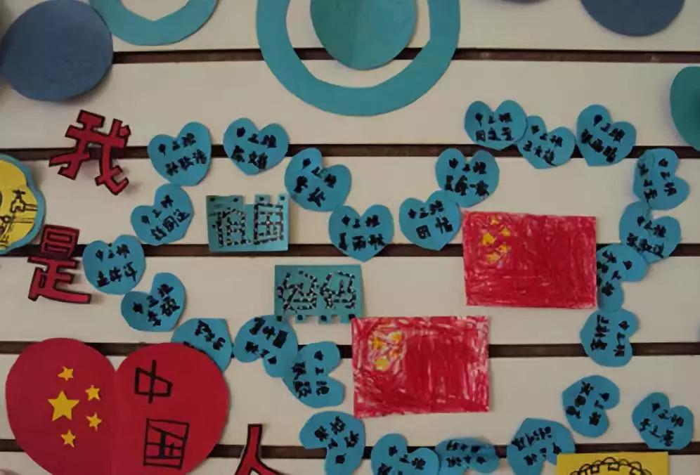 国庆节主题墙设计_幼儿园国庆节主题墙画图片