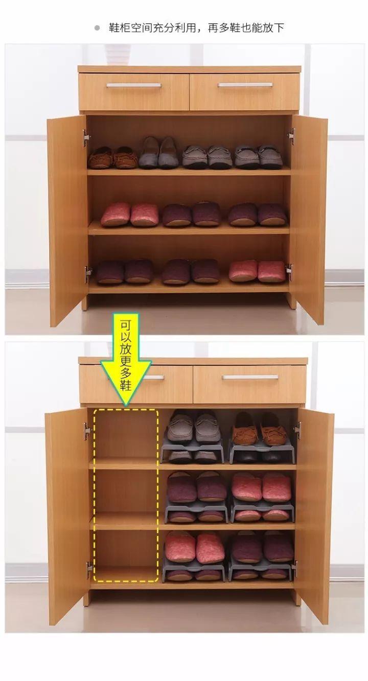 鞋柜收纳神器+省空间