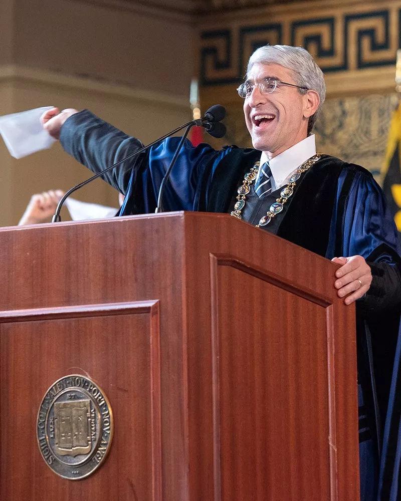 开学第一课!哈佛、耶鲁、哥大的校长们在开学典礼上都说了啥?