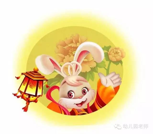 幼儿园中秋节创意手工 玉兔 附 小中大班中秋节活动方案