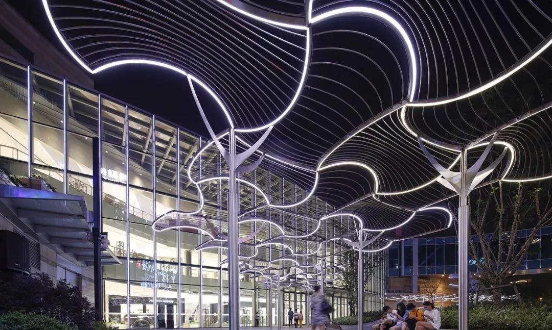 no.1820【设计欣赏】流动的灯光艺术,远洋乐堤港夜景美出新高度!图片