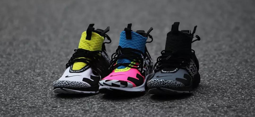e35e5e09dd5 XH55超限量发售预告   NikeLab Air Presto Mid X ACRONYM ®   - 雪花新闻