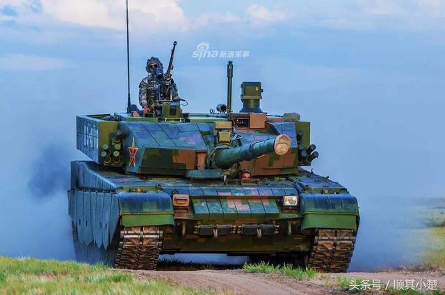"99A主战坦克正面照""集锦"""