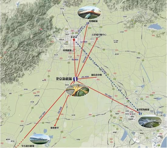 北京大兴国际机场揭秘:一次建4条跑道,航站楼让旅客少