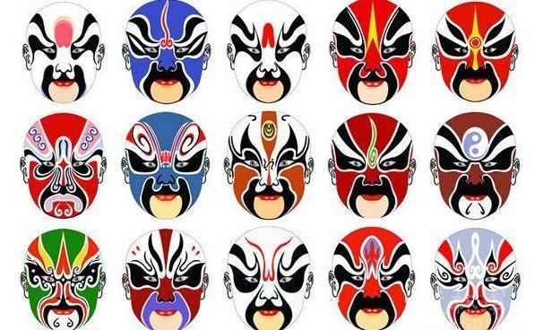 每天一点国学:京剧脸谱各种颜色,寓意什么呢图片