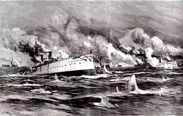 纪念 | 那年今日,这位民族英雄指挥战舰,奋不顾身朝日本鬼子冲去……