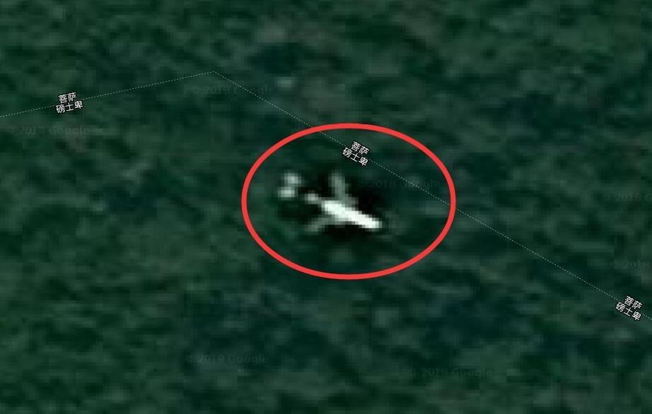 这位英国专家表示他在谷歌卫星地图上发现了mh370的残骸,他认为这架