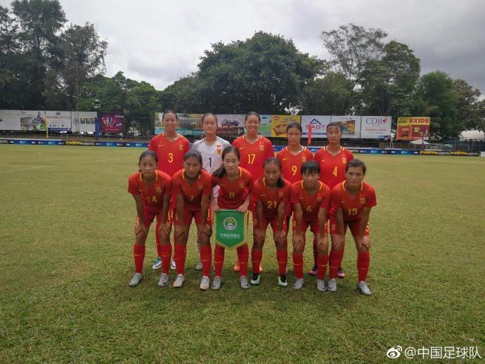 狂进37球未失1球,中国U16女足闪耀亚少赛