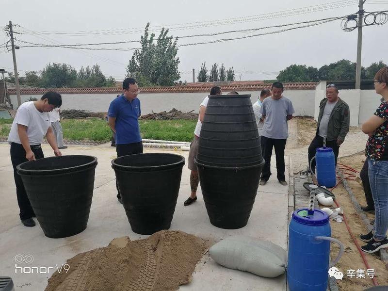 辛集市马庄农村卫生厕所改造进行中
