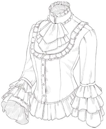 【干货】洛丽塔与哥特服装的区别与特点图片