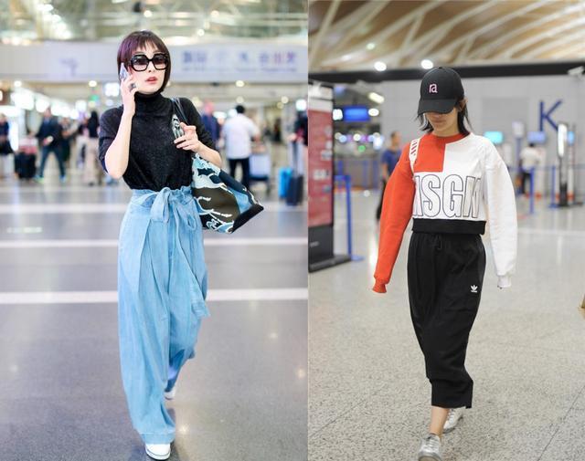 当160吴昕和166谢娜同穿高腰装,终于知道腿细和腿长哪个更重要了