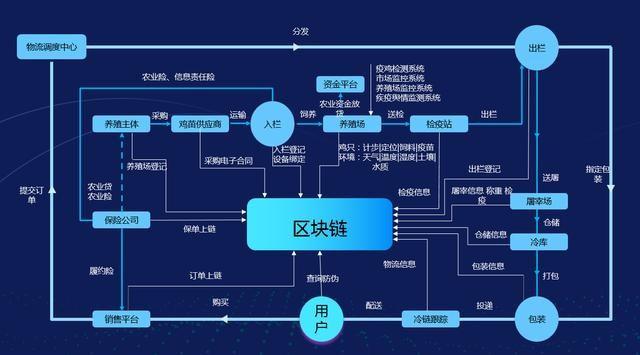 图5 步步鸡区块链防伪体系设计