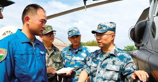 【中國夢·踐行者】從小軍事迷到專業軍王 廖新華以精確數據為「中軍帳」提供精準支撐