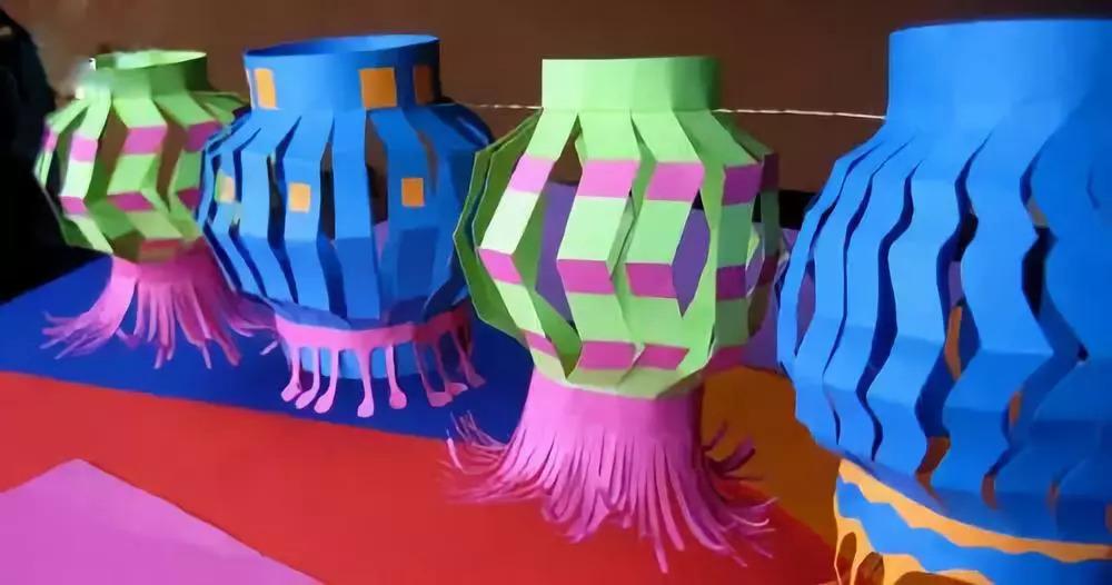 国庆,中秋节幼儿园创意手工灯笼大制作,总有一款合适你!