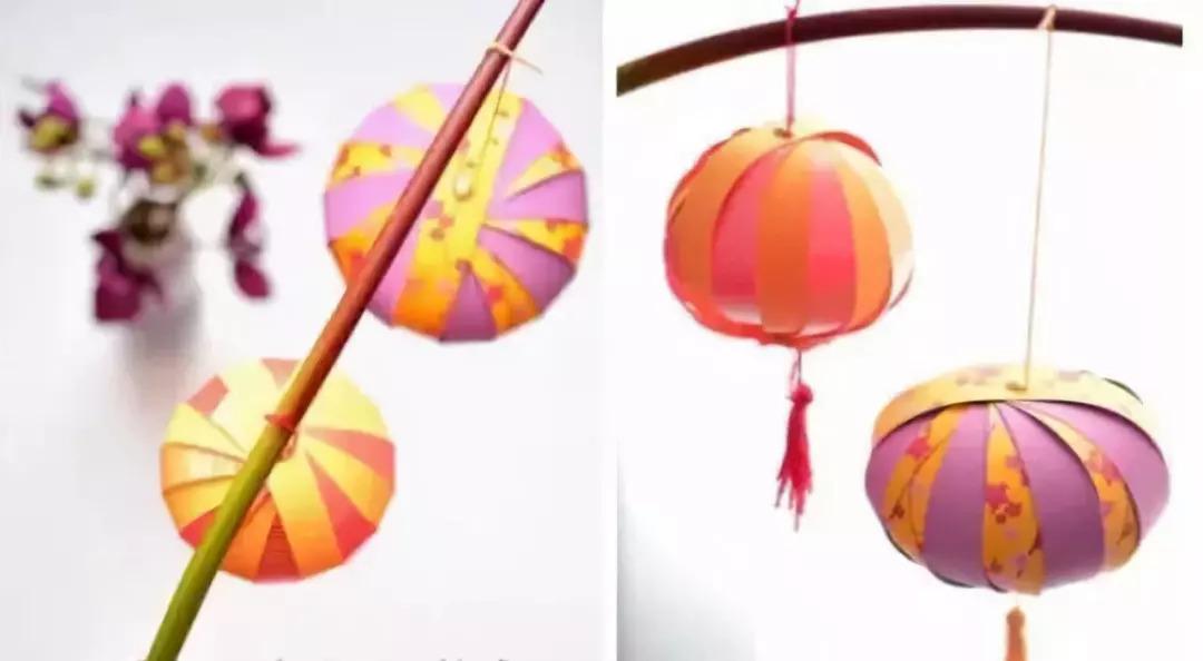于是有了燃灯助月色的风俗 带孩子亲手制作些不同的中秋灯笼 不仅有图片