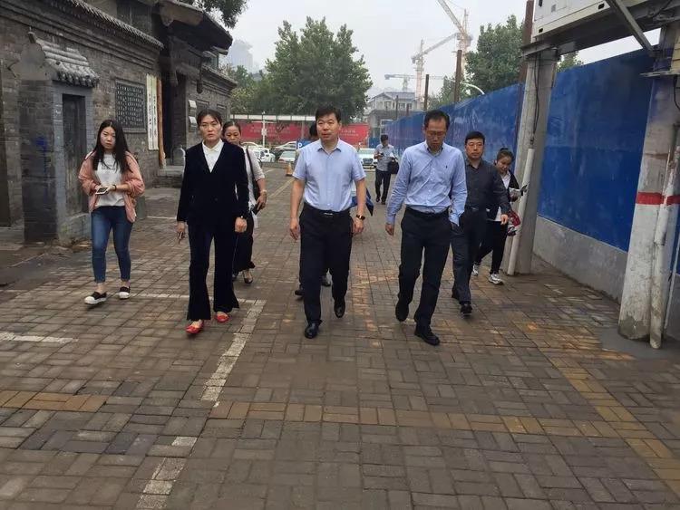 靠前指挥 一线督导——丛台区政府主要领导实地调研指导串城街历史文化街区保护与建设工作