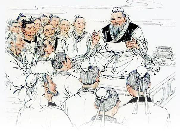 """子张问仁于孔子。孔子曰:""""能行五者于天下,为仁矣... _国学讲堂"""